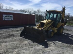 2003 New Holland Lb75 b Tractor Loader Backhoe W Cab Extenda Hoe Coming Soon