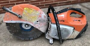 Stihl Ts 420 14 Cutquick Gas Powered Wet dry Concrete Cut off Saw Used