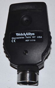 Welch Allyn 3 5v Standard Ophthalmoscope Head Model 11710 used