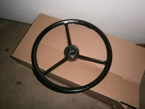 John Deere Tractor Combine Steering Wheel W Center Cap 4020 3020 5020 4430