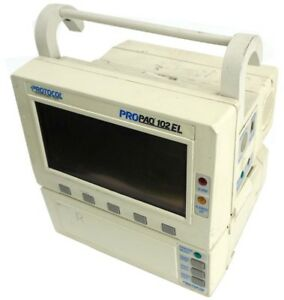 Protocol Propaq 102el 100 series Medical Ecg Vital Sign Patient Monitor