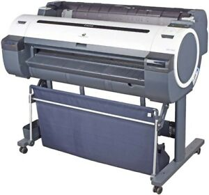 Canon Ipf750 Imageprograf Large Format 36 Color Inkjet Printer Plotter