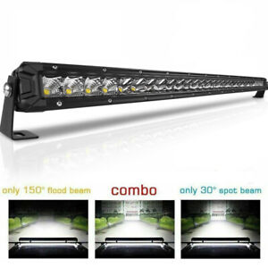 Cree 32inch 720w Truck Led Work Light Bar Flood Spot Combo Boat Driving Lamp 30