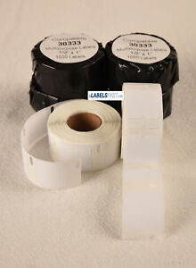 30333 Thermal White Multipurpose Dymo Labelwriter Xl Duo Compatible 1000 Labels