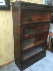 Globe Wernicke Bookcase Size D 8 And 1 2