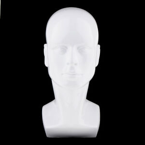 Showcase Male Mannequin Head Wigs Cap Glasses Headphone Display Model Stand