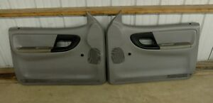 Ford Ranger Door Panels Both L R Gray Non Power Oem 1993 1994 1995