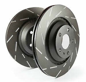 Ebc Usr Slotted Front Brake Rotors For 08 11 Lotus 2 eleven 1 8l Supercharged