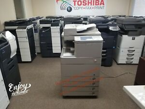 Canon Imagerunner Advance C5240 Color Copier Meter Only 79k See Video Below