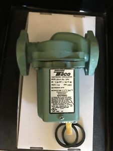 Taco 0010 f3 1ifc Circulator Pump 115v Low Hours Usage Look At Pics Save