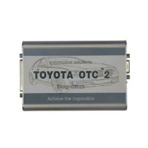 Toyota otc 2 with latest v11 00 017 software for oyota and lexus diagnose d630