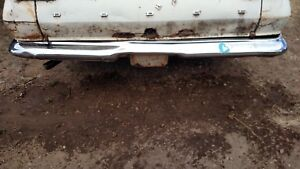 Dodge Dart Gt 270 Wagon Rear Bumper 64 65 66