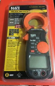 New Klein Tools Cl2500 1000a Ac dc Trms Clamp Meter Backlit Display With Case