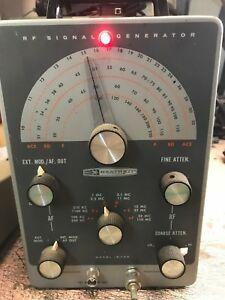Heathkit Ig 102 Rf Signal Generator For Parts And or Not Working