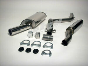 Vw Golf Mk1 Gti Cabrio Jetex Performance 2 5 Exhaust Polished 80mm Tail Tip