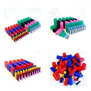 160pc High Temp Silicone Rubber Cap Tapered Stop Plug Kit Powder Coating Supp