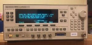 Agilent 83620a 10mhz To 20ghz Synthesized Sweeper Opt 001 Calibrated
