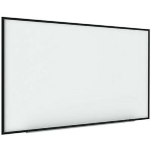 Interactive Magnetic Dry Erase Board 70 X 52 X 1 1 4 White black Frame
