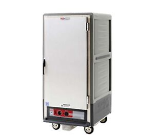 Metro C537 hlfs l gy C5 3 Series Heated Holding Cabinet