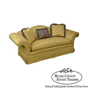 Southwood Custom Gold Upholstered Sofa B