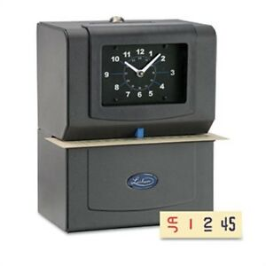 Automatic Model Heavy duty Time Recorder Gray