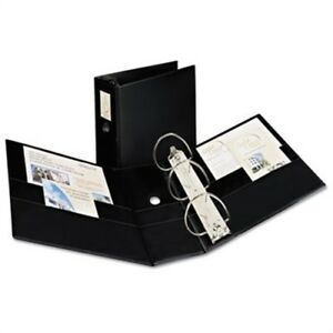 Durable Binder With Two Booster Ezd Rings 11 X 8 1 2 5 Black