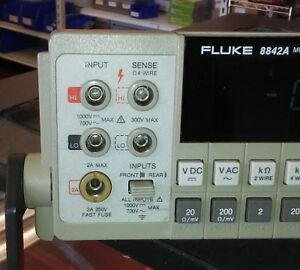 Fluke 8842a 5 Digit Dmm Ac 09 Ieee 488 Options