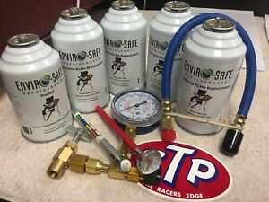 Enviro Safe Industrial Refrigerant R12 R134a Replacement Recharge Kit