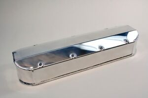 Big Block Chevy Prw Fabricated Aluminum Valve Cover Tall Polished