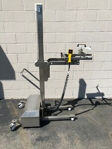Stainless Steel Battery Lift Truck Locking Wheels 120v Savage Bros Type Lift