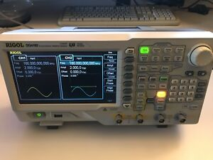 Rigol Dg4162 Dual Function Generators Up To 160 Mhz Ship From Silicon Valley