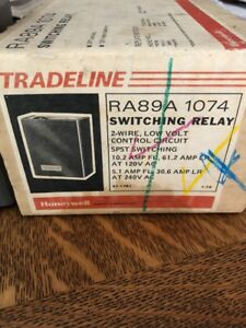 Tradeline Honeywell Ra89a 1074 2 Wire Spst Switch Boiler Switching Control Relay