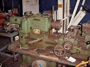 Metal Lathe Morey Lathe Turret Style Antique 1952 Heavy