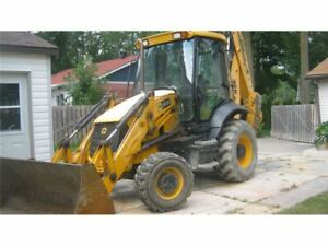 Ready For Work 4x4 Jcb Backhoe 2835 Hours 2013 Eco 3cx Forks Incl