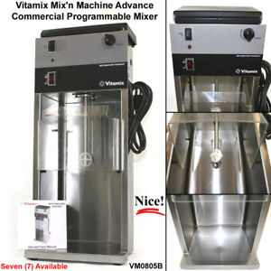 Vitamix Mix n Machine Advance Vm0805b Commercial Mixer Milkshake Blender 582