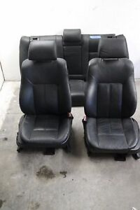 Bmw E38 E39 5 7 Series Seats Left Right Front Heated Black Comfort Power