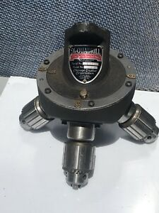 Quadrill Precision Turret Drill Head 4 Position Model Wt Serial 1372