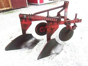 Used Massey Ferguson 2 14 Inch Turning Plow 3 Pt Hitch We Ship Cheap And Fast
