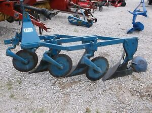 Used Ford 101 Series 3 14 Inch Turning Plow 3 Pt Hitch We Ship Cheap And Fast
