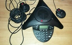 Polycom Soundstation2 Analog Conference Phone W expandable Mics