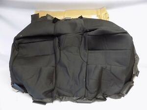 New Oem 2010 2014 Ford Mustang Rear Seat Cushion Cover Assembly Ar3z6363804ab