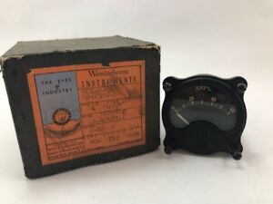 Westinghouse Instruments Ax Ammeter Shunt 0 60a Aero Type C60
