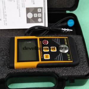 Tm130d 225mm Digital Ultrasonic Wall Thickness Gauge Tester Meter Fo Metal Tool