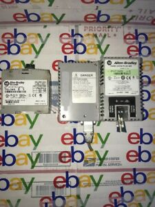 Allen Bradley 1762 ow16 b Micrologix 1200 2711p t6c5d Lot see Pictures