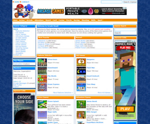 Turnkey Arcade Website Script With Over 2 800 Games