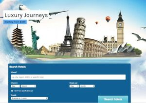 Turnkey travel Website 100 Automated Free Hosting