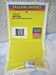 Refrigerant Recovery High Pressure Switch Cut Out 517 Psi Yellow Jacket R410a