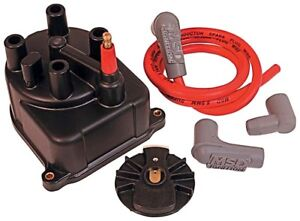 Msd Ignition 82923 Distributor Cap And Rotor Kit