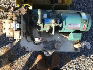 Complete Hydraulic Unit