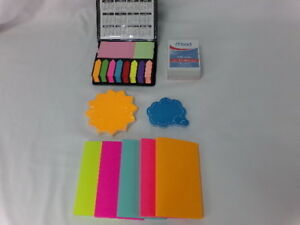 Sticky Notes Lot Of 7 Different Styles